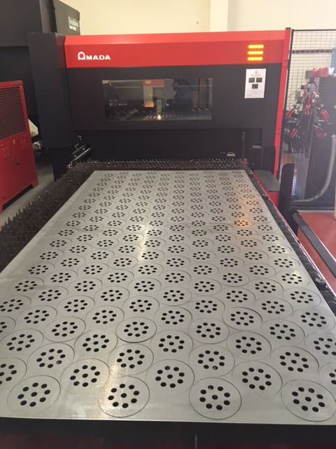 Laser and sheet metal components