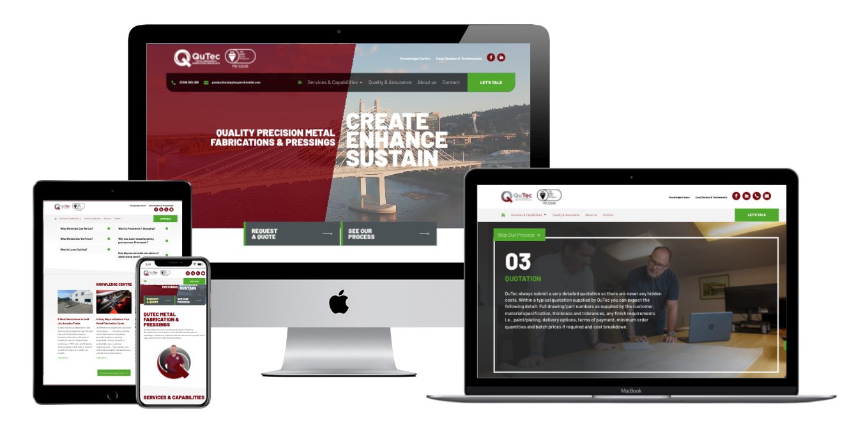 QuTec Launches Brand New Website