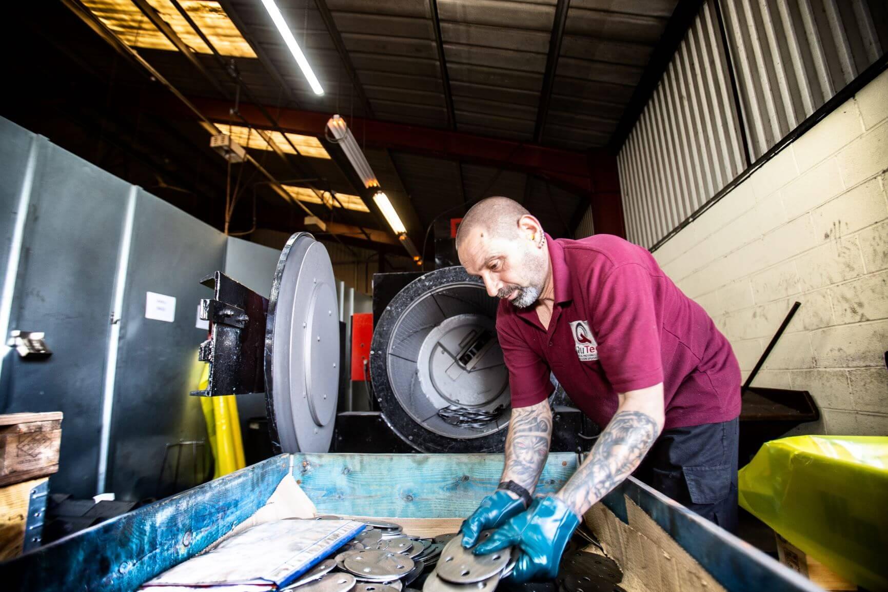 Qutec Shotblasting and Metal Finishing Services